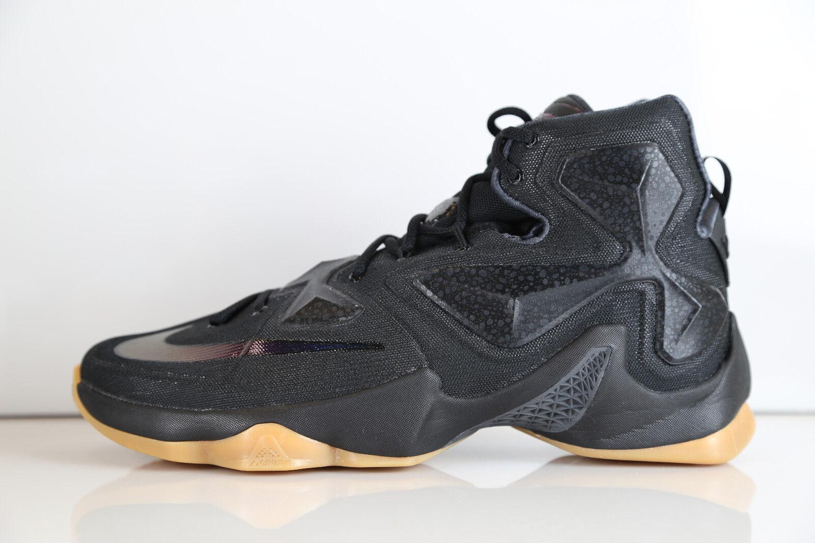 Nike Lebron 13 Noir Carbon Fiber 10 Anthracite 807219-001 8-13 11 10 Fiber supreme c43da0