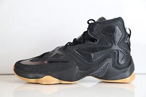 separation shoes c1899 ab27e Details about Nike Lebron 13 Black Carbon Fiber Anthracite 807219-001 8-13  11 10 supreme