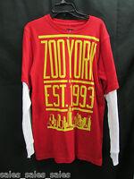Zoo York Shirt Boys Size Xl Red Cotton