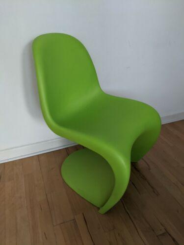 Panton Chair von Vitra KEINE Kindergröße Das Original Stuhl in Dark Lime