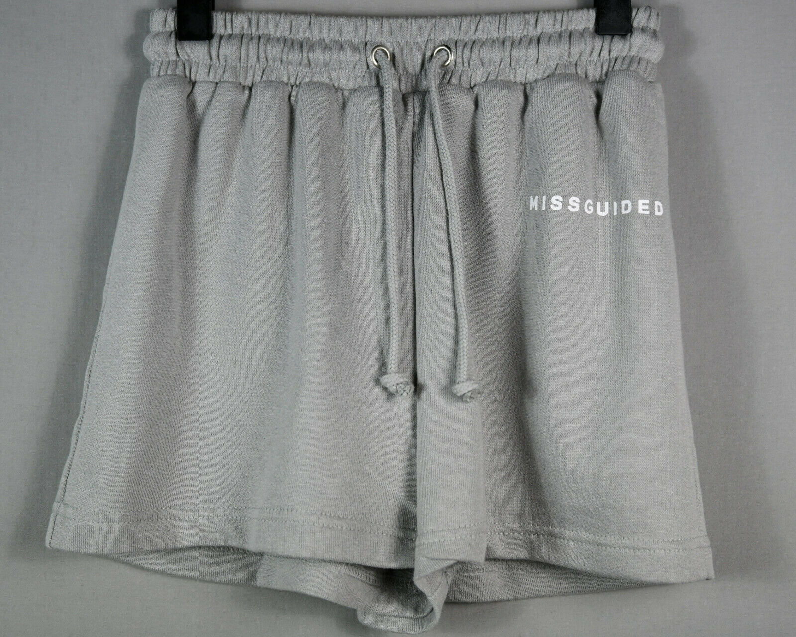 Missguided Shorts Hose Jogginghose kurz Gr 32 grau