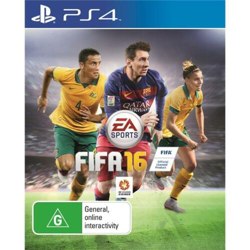 1 of 1 - FIFA 16 Football Soccer PS4 Game NEW