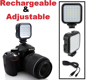 Details about LED Light Pack With Power Kit For Canon EOS Rebel XS XSi XT  XTi T2