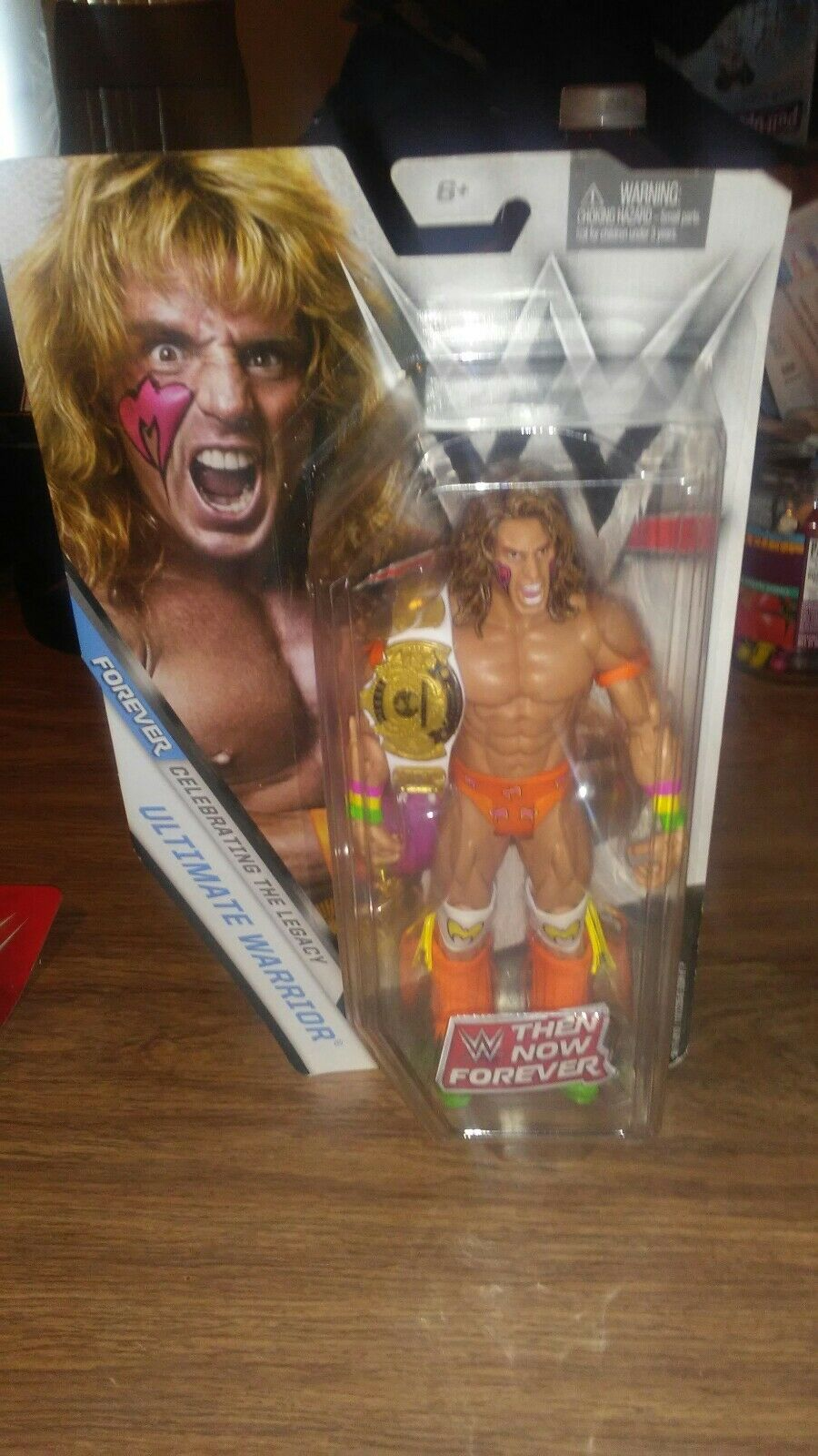 Wwe then Now Forever Celebrating The Legacy Ultmate Warrior 2016 Wirkung Figure