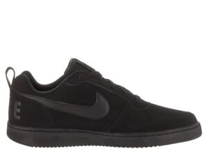 good selling meet official site Details about Nike Court Borough Low Black/Black-Black 838937 001 Mens  Shoes Fast Shipping