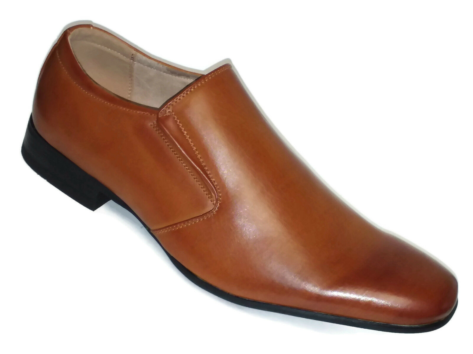 Bruno Marc New York Mens Gordon Leather Lined Dress Loafers Slip-On shoes 13