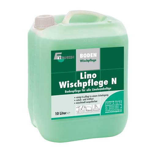 Franken Lino-Wischpflege N, 10 Liter - Unterhaltsreinigung für Linoleumböden
