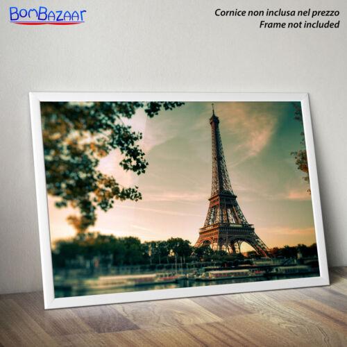on Photo Paper//Canvas Canvas Poster Paris-Paris-Eiffel Tower
