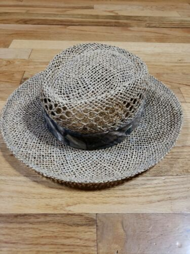 Authentic RedHead Straw Hat Cap 100% Straw One Si… - image 1