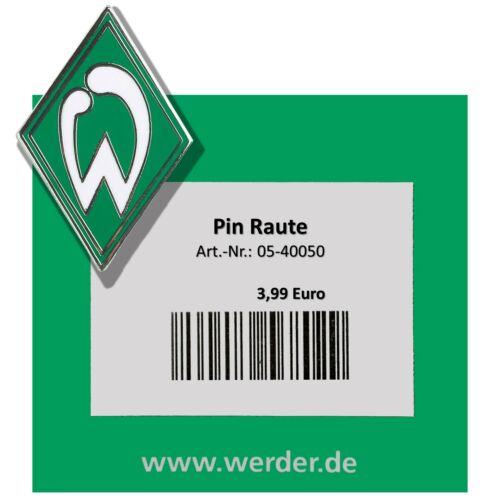 Werder Bremen Pin Pins Raute Moin Flutlicht Anstecker Stadion Flutlichtmast SVW