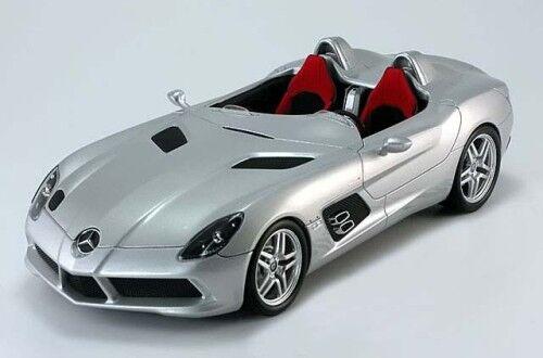 Minichamps Mercedes SLR Stirling Moss Roadster Silber Händler 1 18 Rare Finden