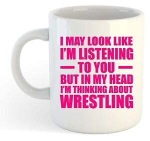 I-May-Look-Like-Im-Listening-Wrestling-Mug-Pink