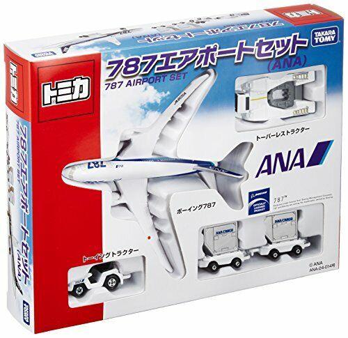 Tomica 787 Airport Set ANA