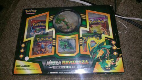 Pokemon TCG Mega Rayquaza Collection Box 2B3 with Figure Free Shipping NEW