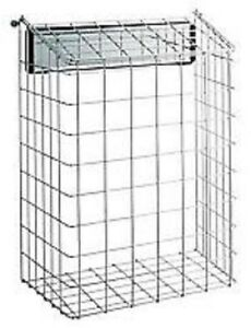 EXCELLENT-QUALITY-EXTRA-LARGE-SUPER-WHITE-FINNISH-LETTER-BOX-CAGE-SAVE-PET-POST