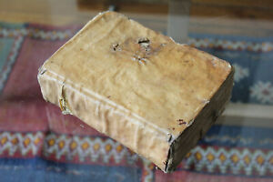 1730-LATIN-MANUSCRIPT-RHETORIC-gt-500-P-Dominicius-sacerdos-montis-giscardi-RARE