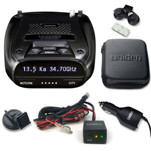 Details about Uniden DFR7 Super Long Range Radar/Laser Detection GPS with  Hardwire Kit