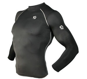 Mens-COOVY-Compression-Wear-Under-Base-Layer-Top-Tight-Long-Sleeve-T-Shirts