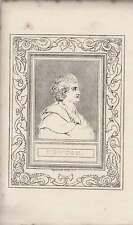 1835 Engraved Portrait Newton, Sir Isaac  ~ G Cooke/ Ro I tiers