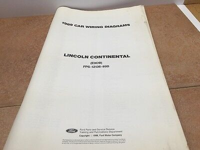 1989 Lincoln Continental Wiring Diagrams And Vacuum ...