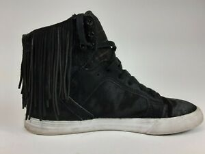 Supra-Womens-Skytop-Black-High-Top-Sneakers-Shoes-8-5-sw18032