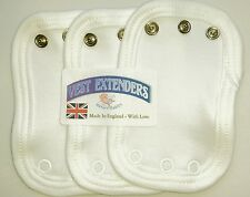 Vest extenders...made in UK ..Nature Babies
