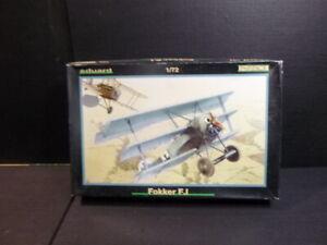 1-72-1-72-Maquette-avion-vintage-gt-gt-eduard-fokker-F-1