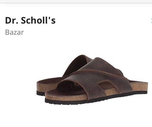 957b5da1f Dr. Scholls Scholls Scholls Men s Bazar Brown Sandals Size 11 e8eecf ...