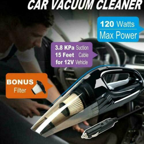Cordless Hand Held Vacuum Cleaner Small Mini Portable Car Homeuse Auto Z4F6