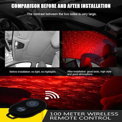 Grizack Auto Atmospheres Lamp Interior Ambient Star Light USB Night Romantic Decoration Meteor