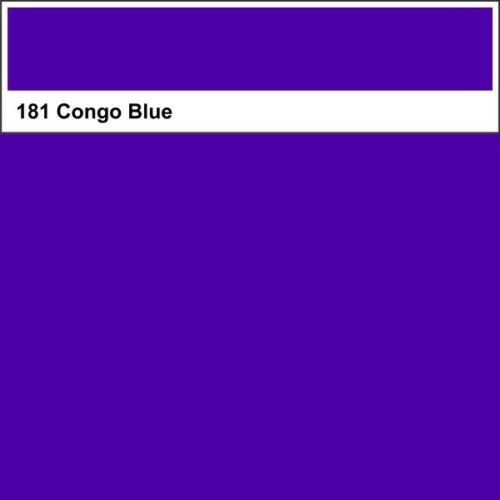 Lee Farbfolie 181 Congo Blue 25cm x 123cmNeu