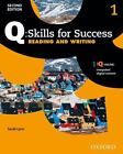 Q - Skills for Success, Level 1 : Reading and Writing by Sarah Lynn (2015, Paperback)
