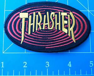 THRASHER OVAL PATCH, DRESS UP YO RAGGEDY ASS!
