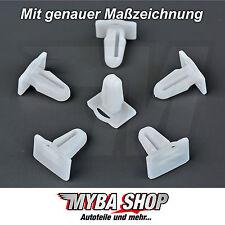 10x barra di ingresso clip di fissaggio protezione bordi barre di ingresso BMW #neu #