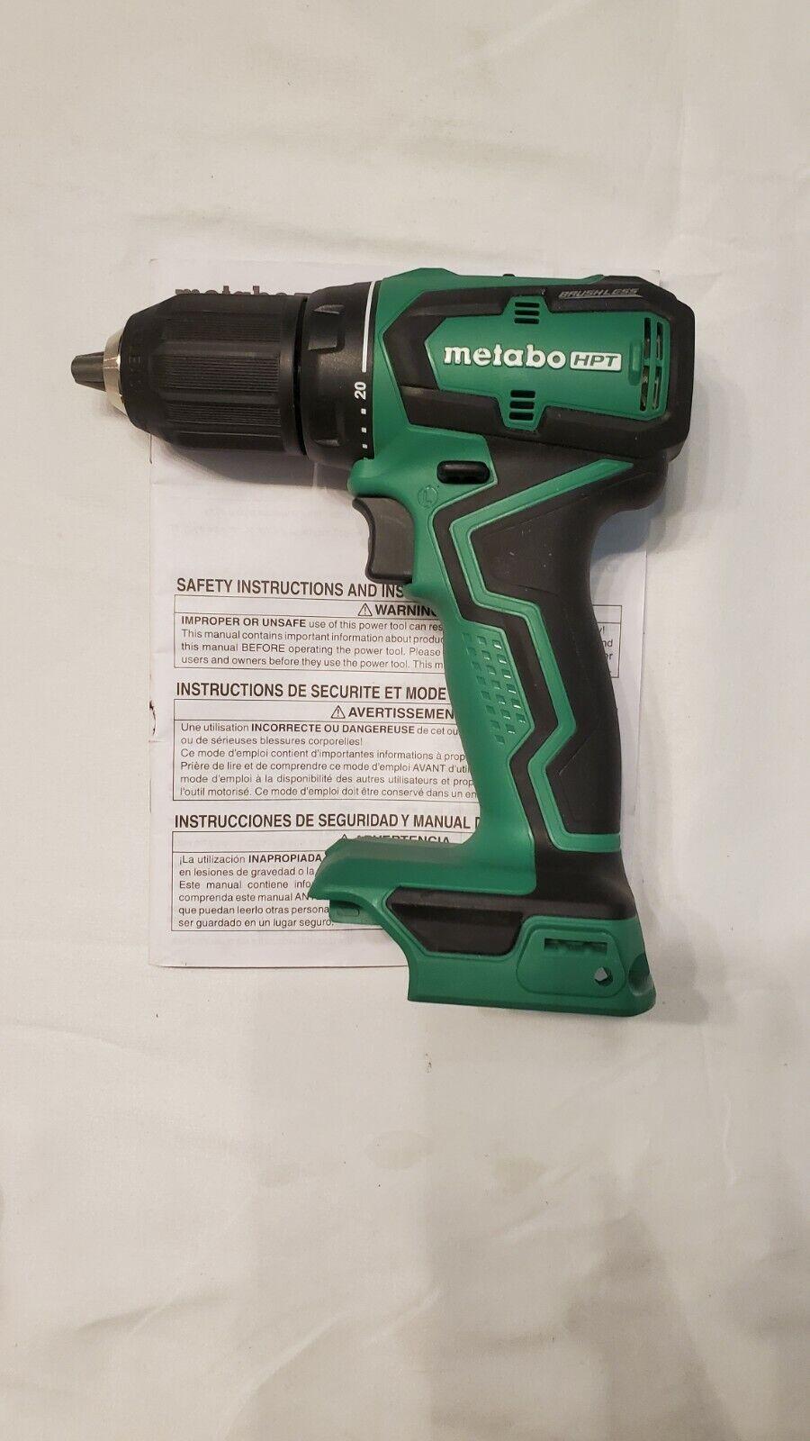toolguythai Metabo HPT Sub-Compact Drill