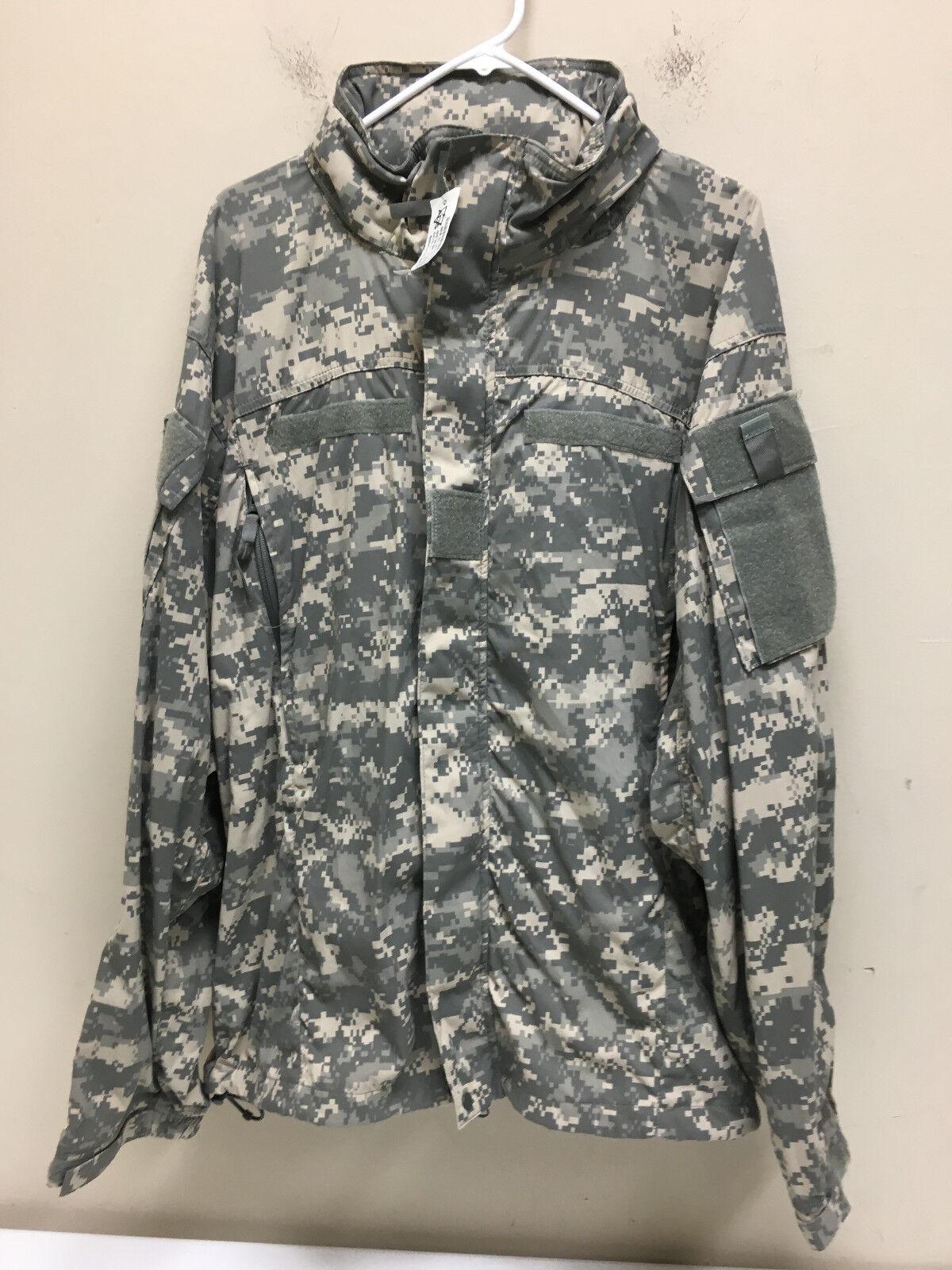 Ejército L5 emitido por nivel 5 Gen III Soft Shell Chaqueta de clima frío LR Nuevo con etiquetas