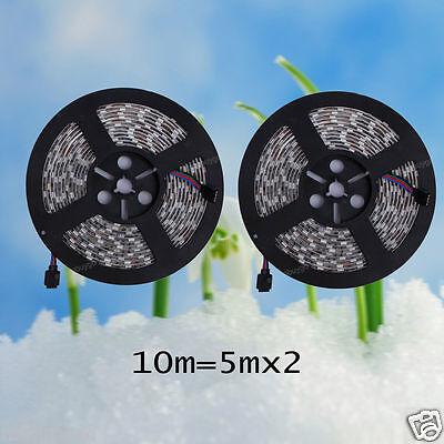 10M 5050SMD RGB Farbwechsel LED Lichtkette Mit 44 Key Fernbedienung Mit Netzteil