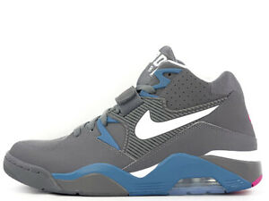Nike-Air-Force-180-310095-016-Charles-Barkley-Dark-Grey-Vivid-Pink-Men-039-s-10-5-DS