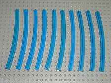 10 rails LEGO TRAIN 12v 4,5v ref 3230a track / 725 726 119 113 183 722 181 120