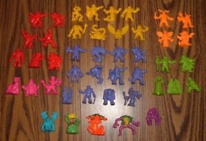 Rare 44 Monster In My Pocket Figures Toys Lot 1990's Matchbox Mattel