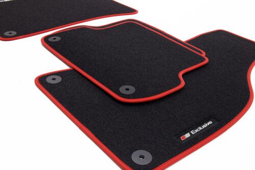 Exclusive Line Fußmatten für Fiat Punto 2 II Typ 188 Bj 2003-2007