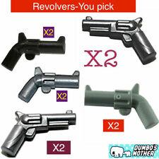 LEGO 13562 Weapon Gun Small Barrel Select Colour- FREE P/&P! Pistol Revolver