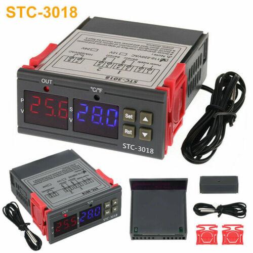 110V-220V Digitaler Temperaturregler Grad Sensor Digital-Thermostat Instrument R