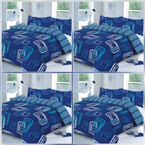 NEW FASHIONED BLAKE//CONTEMPORARY DESIGN POLLY//COTTON DUVET QUILT COVER SET