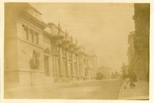 Belgique, Bruxelles, Musée des Beaux-Arts Vintage albumen print.  Tirage albu
