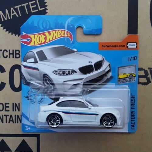 Neu OVP 1 x BMW M2 F87 WEISS Hot Wheels von Mattel SELTEN 2019 BRANDNEU