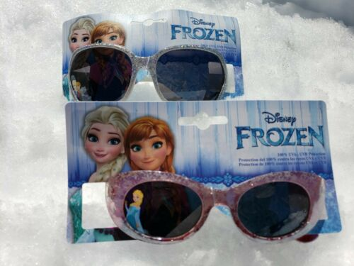"""Lot of 2 prs Kids Disney Frozen Sunglasses /""""Big and Small/"""" Collection NEW!"""