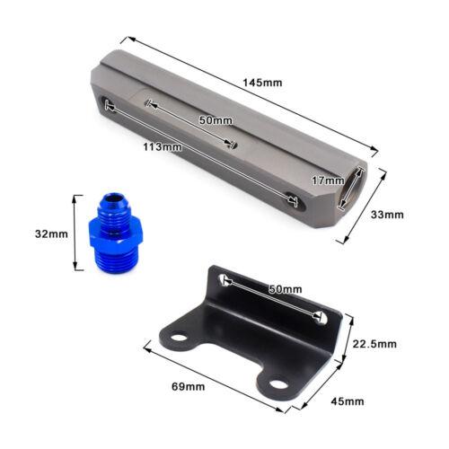 Aluminum Fuel Rail for Subaru Sub Impreza GDA GDB Fuel Rail Turbo Fuel Rail Kit