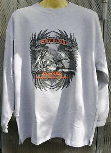 Harley-Street-Glide-Sweatshirt-Pullover-S-M-XXL-3XL-Ubergroesse-Plus-Size