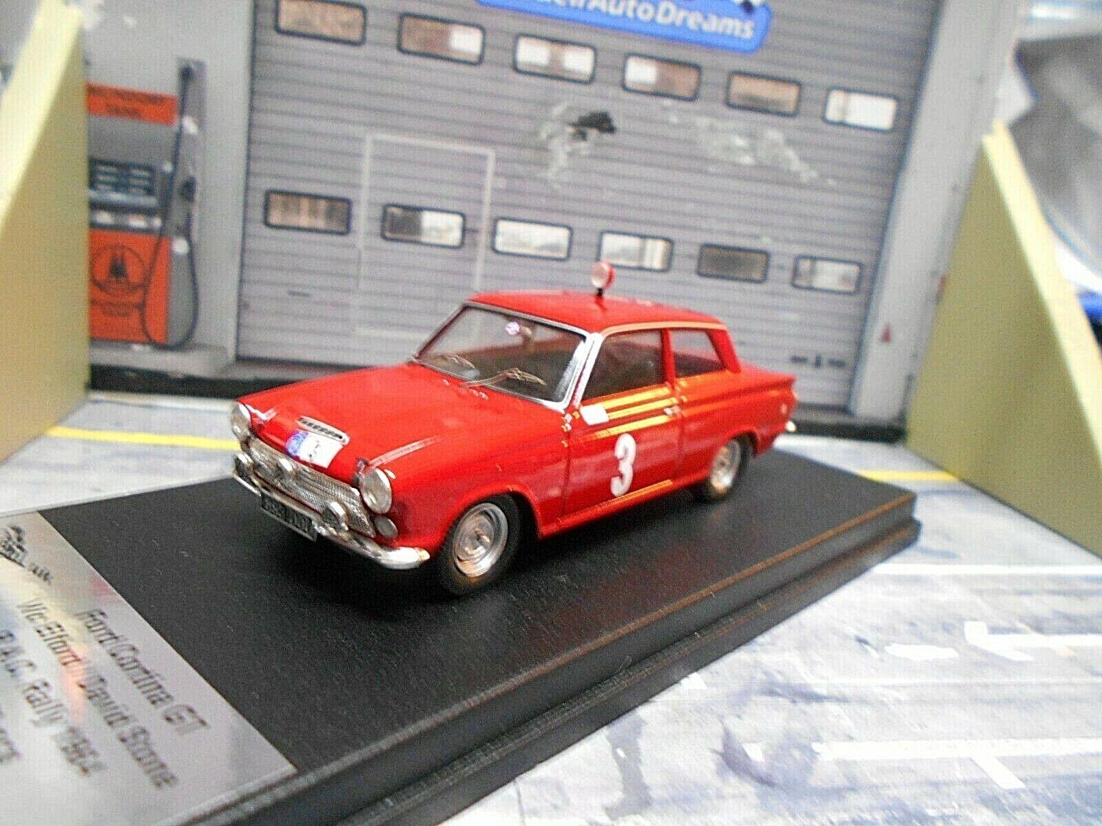 Ford cortina GT Rally RAC 1964  3 Elford Stone Scala 43 1 150 Trofeu 1 43